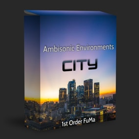 An in depth collection of drag 'n drop, Ambisonic 1st Order FuMa recordings. Audio assets you need to create your Urban City vibrant and alive. Good for surround sound of any format, VR, games, documentaries, video, background ambience and more.