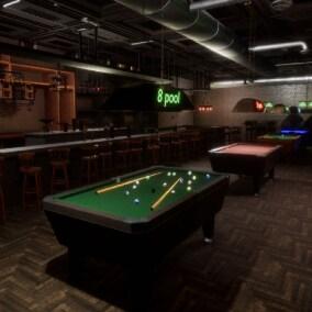 American bar props