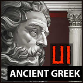 80 elements for Ancient Greek UI