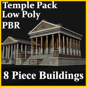 Ancient Temple Pack