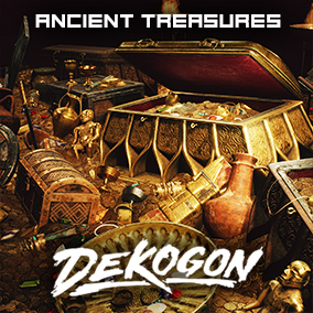 A collection of ancient gold, treasures, and relics!