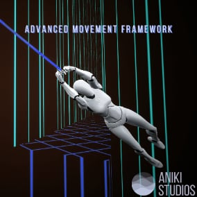A framework offering you advanced movement mechanics, such as climbing, rope swinging, vaulting from the get-go.