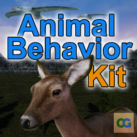 The Animal Behavior Kit provides animal AI to create a fully-functional ecosystem for your game while keeping performance and flexibility in mind.