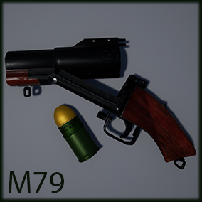This pack contains standard and sawed-off versions of the iconic M79 grenade launcher used by American forces during the Vietnam War and still in service today, with VFX and SFX included.