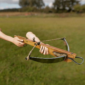 Light European Crossbow with 4K textures, 3 LODs, & free fully animated / rigged arms. Save 25%!