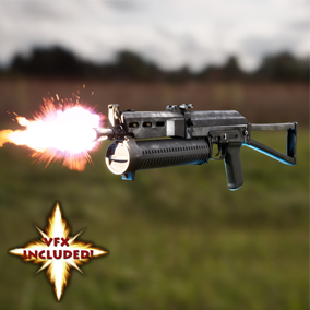AAA quality PP-19 SMG! Features VFX,  4K textures, 3 LODs, & fully animated / rigged arms.