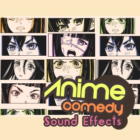 228 Anime Sound Effects! Great for Anime-inspired games, Visual Novels, and more!