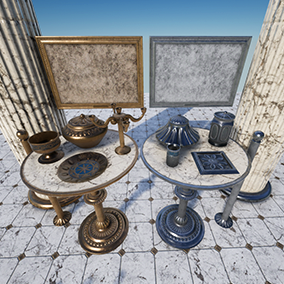 Antiquity Props Set