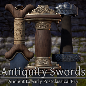 A set of 10 swords from antiquity era. From ancient Ethiopia to Northern parts of Europe