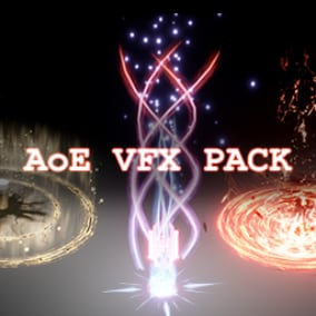 This package contains 10 kinds of magic AoE effects(Cascade). Each effect is unique and different from the other.