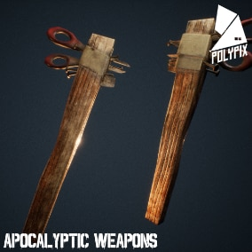 A post apocalyptic weapon pack ready for your future game!