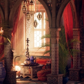 A Moroccan Palace Scene To Take Your Game To The Next Level!