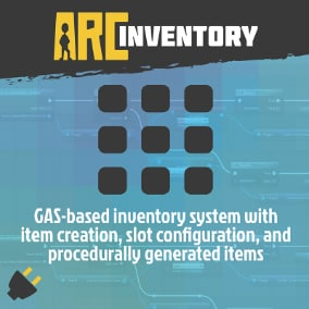 GAS-Based inventory system with Item Creation, Slot Configuration, and procedurally generated items