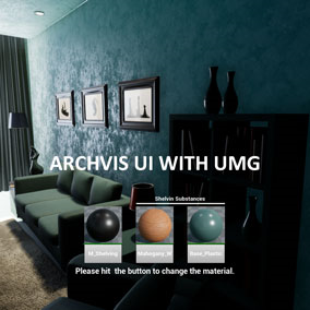 Essential ArchVis UI for Unreal Engine 4.
