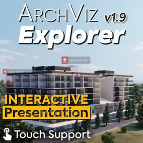 The ideal solution for showcasing and promoting large scale projects in an effective way. ArchViz Explorer comes with powerful Blueprints, filtering functionalities, a user-friendly interface, touch support and much more!