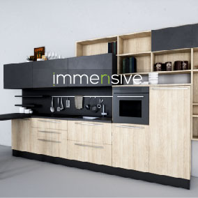 The package contains 6 sets of kitchen furniture in high quality for Architectural Visualization and VR