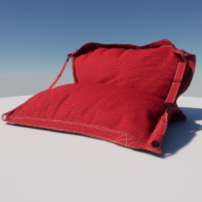 A pack of Outdoor Sofas, Sunbeds and Armchairs with the HQ textures and materials!