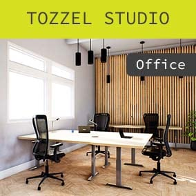 This pack includes 60 high quality office assets that can be used in your UE4 project (4.24 - 4.27) for architectural visualizations that need a high level of realism. Includes 3 demo scenes (day/night). All materials & textures can easily be replaced.