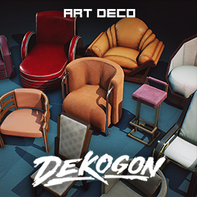 A collection of art deco inspired and designed furniture!