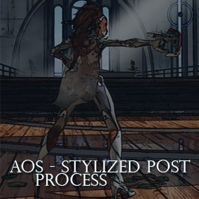 The ultimate Stylized Post Process Effect pack, with over 30 Materials that can be combined and blended to give your scene a unique stylized look.
