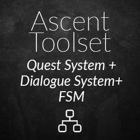 A set of visual tools to create Quests, Dialogues and State Machine!