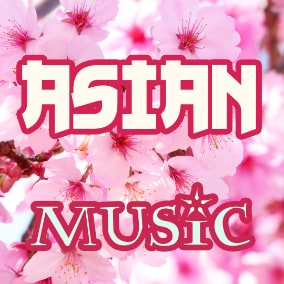 10 tracks with Asian, Chinese/Japanese theme music
