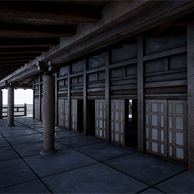 Inspire by Japanese architectures, this Asian Temple pack contains over 30 static meshes great for modular workflow.