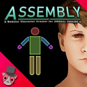Assembly is a flexible plugin with components and systems for creating modular characters in-game.