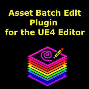 Speed up your UE4 Editor workflow and edit the properties of 100s of UE4 assets at the same time, materials, static meshes, and BPs!