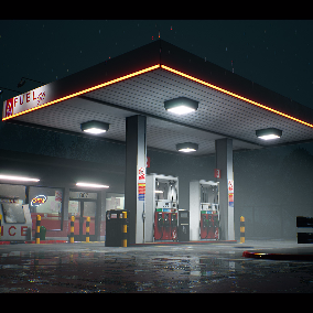 A gas station for all your gas station needs!