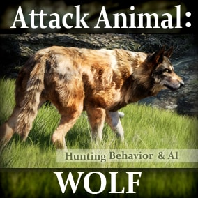 Animals for your game environments by Living Systems. Add interactive Wild Wolves to your game environments. Built in enemy detection and hunting behavior, drag and drop easy.