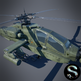 Attack Helicopter model