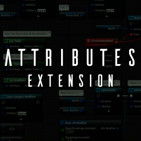 A lightweight attributes system for Unreal Engine 4