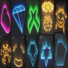 Aura Effect-Hologram effect