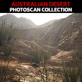 This is a discounted collection of arid/desert photoscans including termite mounds, bones, dung and embankments from vol. 1 - 4.