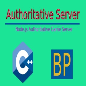 Node.js and UE4 Authoritative Game Server With Integrated Live Chat And A Matchmaker System