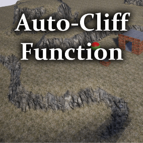This is an automatic cliff and wall function, that has alpha mask blending and intensity options