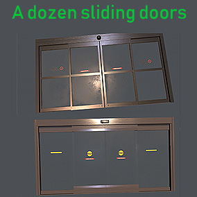 Animating Automatic Sliding Door Blueprints
