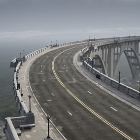 The Bridge Scene is the perfect place to take your latest vehicle design for a drive.
