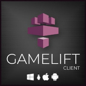 GameLift plugin that communicates with Amazon GameLift Client