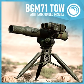 Game Ready Guided Anti Tank Missile Launcher