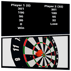 A darts game to integrate into your game or as a standalone game.