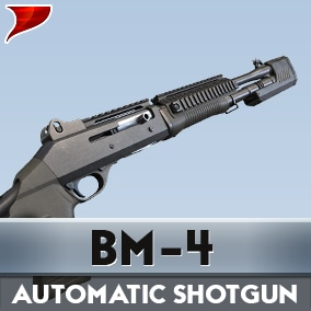 BM-4 Automatic Shotgun includes all kinds of unique 4K textures VFX/SFX and Aniamtions.
