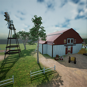 Contains Bar type props to easily construct a farm environment