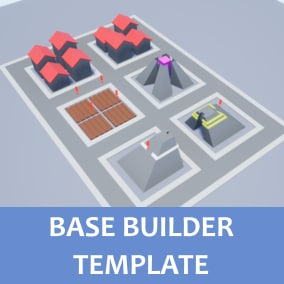 Base builder template made fully in blueprints