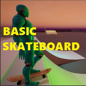 Basic Skateboard Riding and Grinding