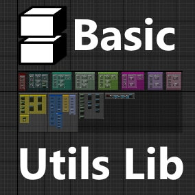 The Basic Utils Library adds over 50+ nodes that are considered basic and essential like FileIO, Data Serialization and more.