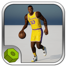 Basket Player Animated