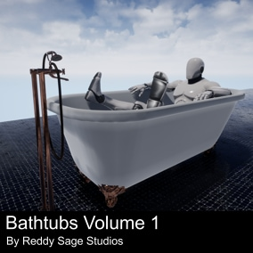 A selection of game ready bathtubs