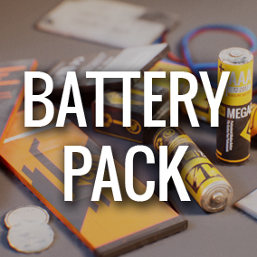 Battery Pack is prefect for Survival, Horror or Sci-fi projects.